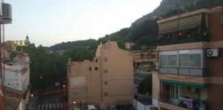 Фото Оксани Плосконос. Вид з вікна її іспанської квартири