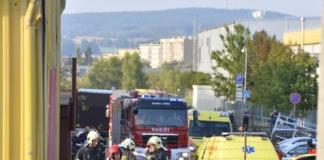 У Чехії гелікоптер впав на склад