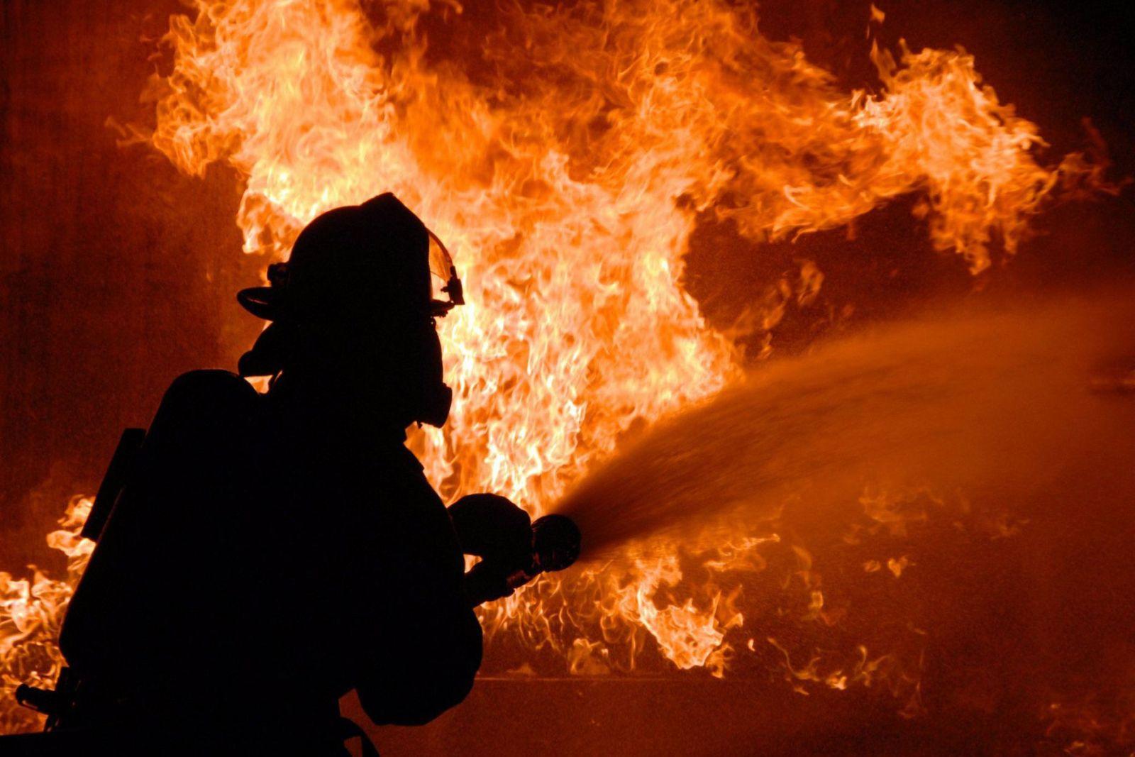 пожар Киев