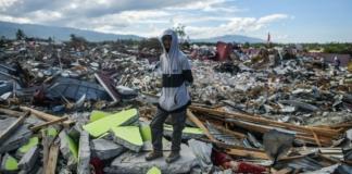 цунами индонезия