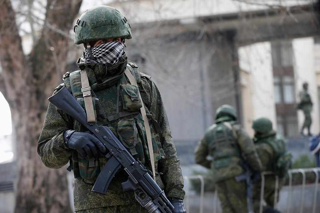 В Крыму произошла вооруженная разборка