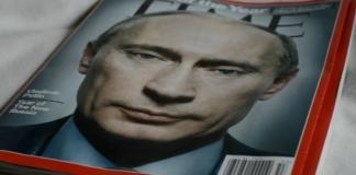 Журнал Time Путин