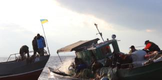 рыбного промысла в Азовском море