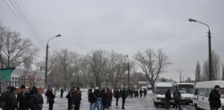 В центре Николаева