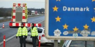 Дания беженцы