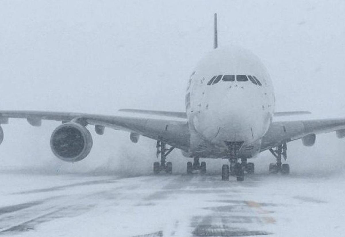 снегопад Борисполь