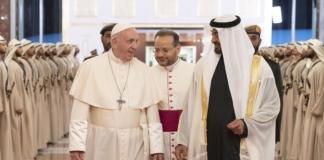 Папа Римский Абу-Даби