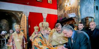 служба Онуфрія у Києво-Печерській Лаврі