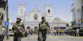 взрывы на Шри Ланке