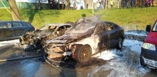 сгорели BMW