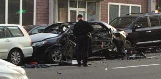взрыв авто разведчика в Киеве