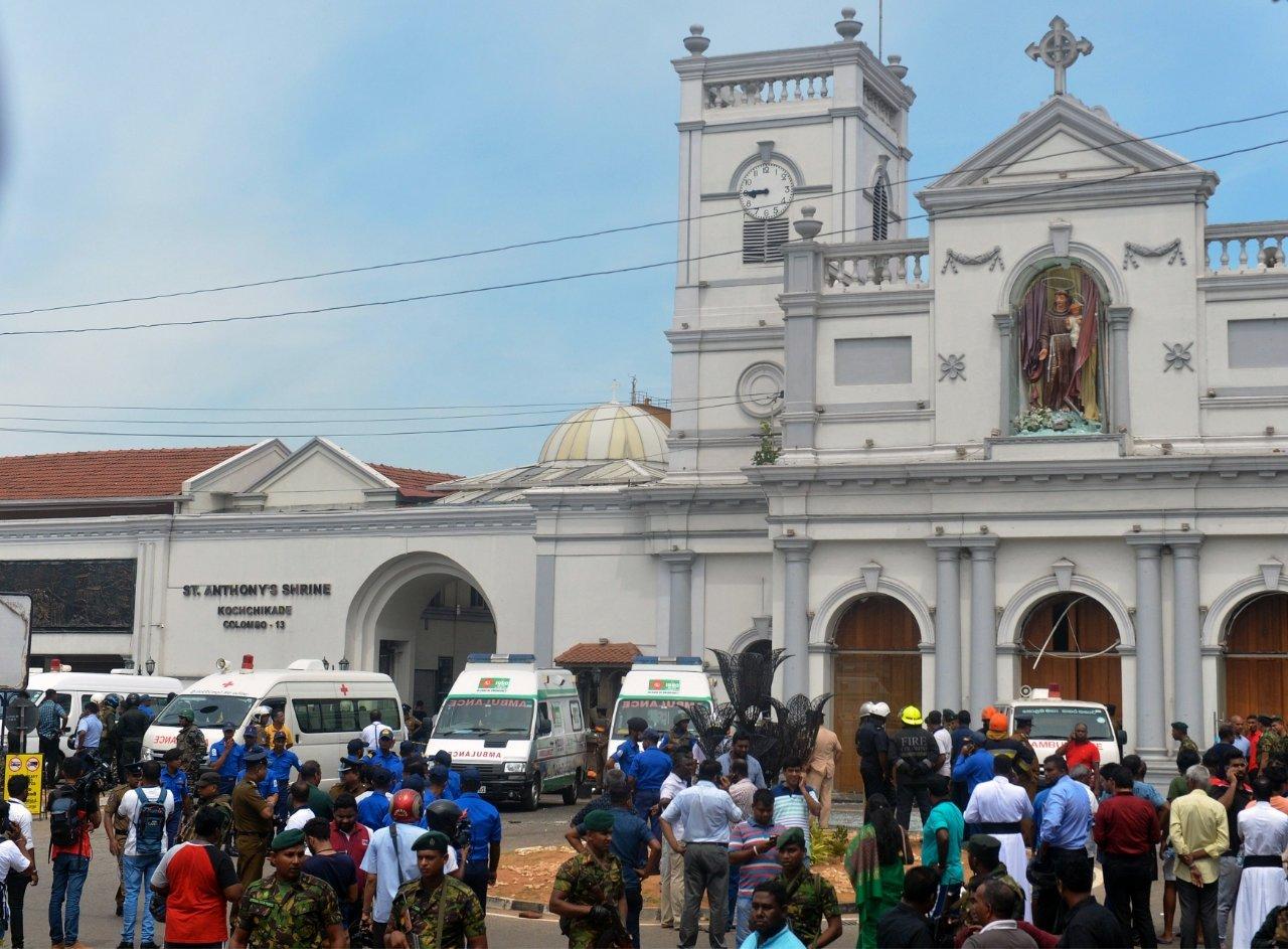 Церковь святого Антония в Коломбо