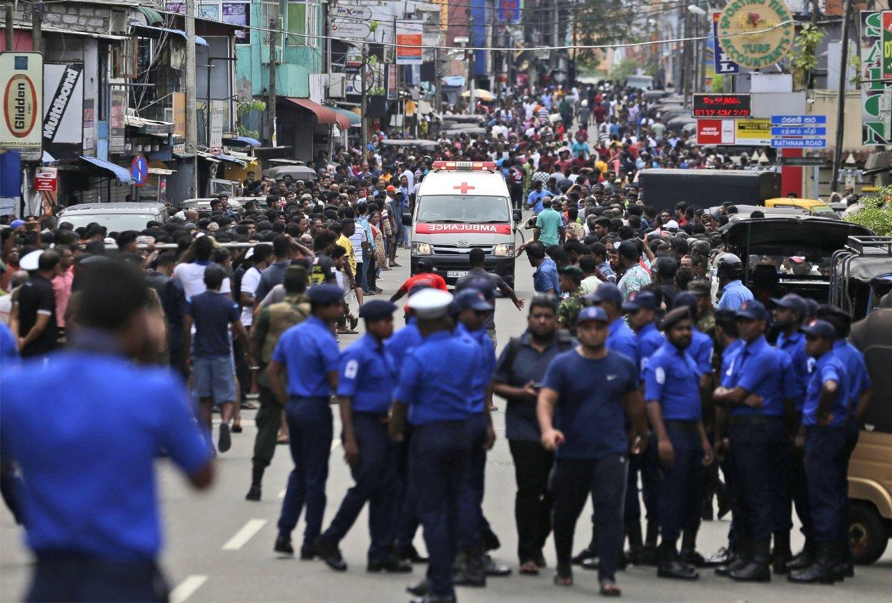 теракт Шри-Ланка
