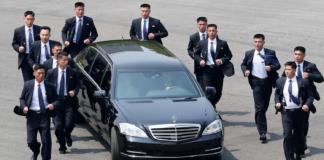 мерседес Ким Чен Ына