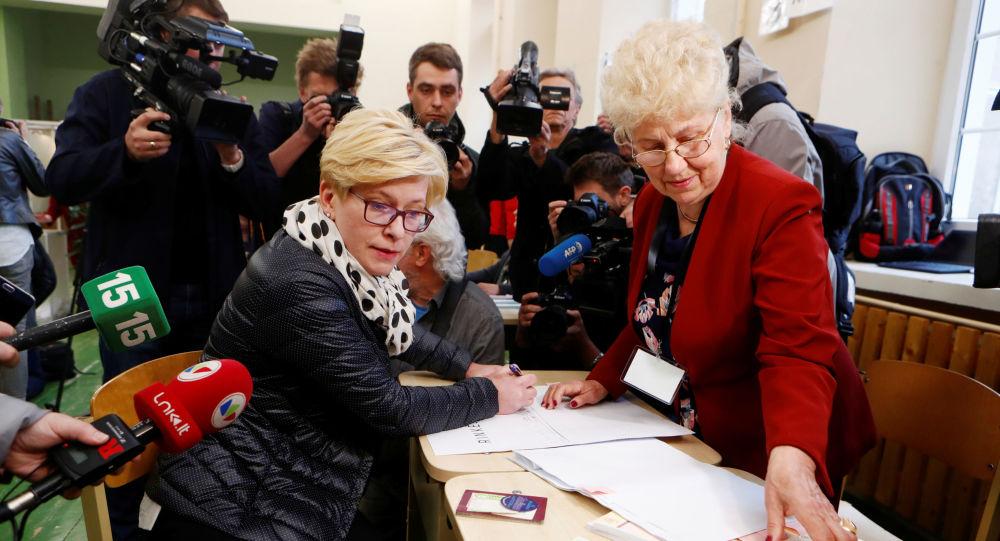 Литва президентские выборы