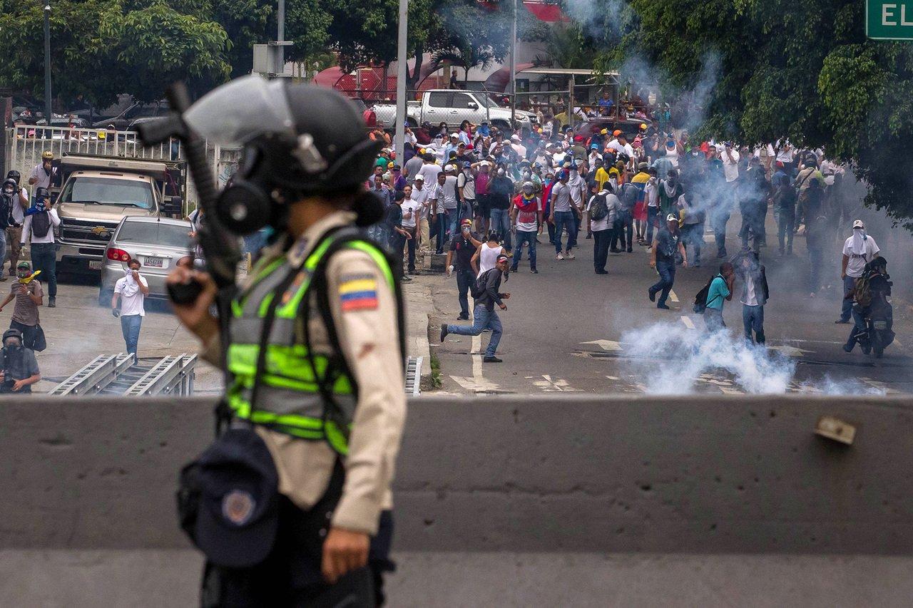 сутички у Венесуелі