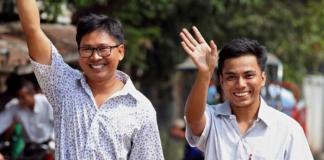 В Мьянме помиловали двух журналистов Reuters