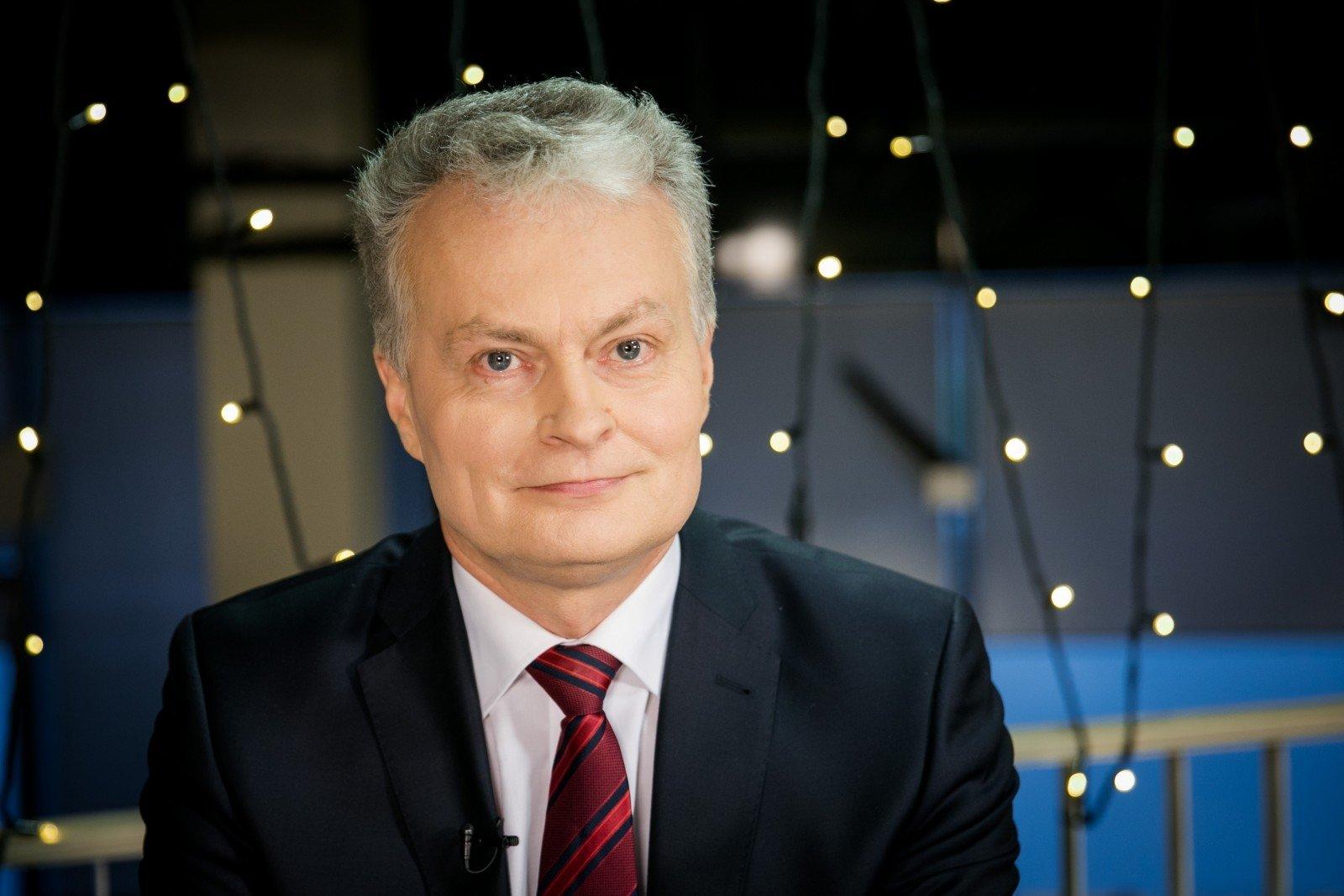Гітанас Науседа