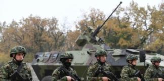 Сербия привела армию в полную в боеготовность