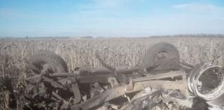 На Луганщині під час польових робіт підірвалися двоє трактористів