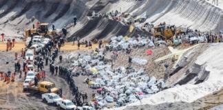 В Германии активисты-экологи атаковали крупнейший рудник по добыче угля