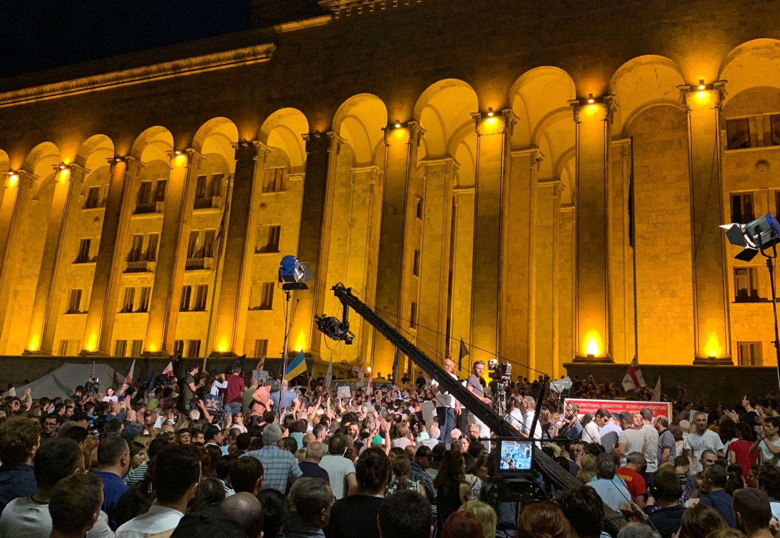 Тбилиси протесты