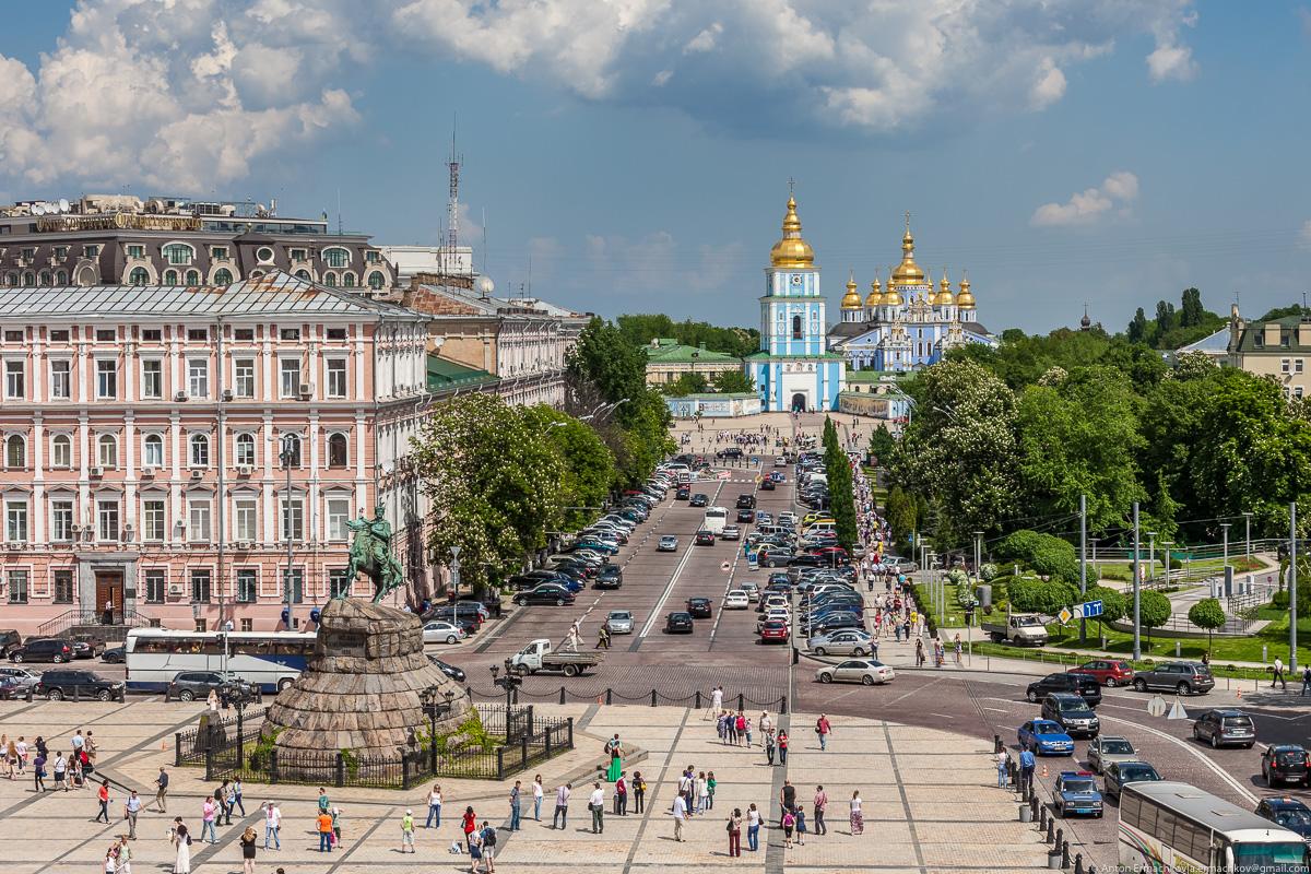 Киев загрязнение воздуха