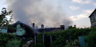 На Рівненщині екс-начальнику поліції спалили будинок