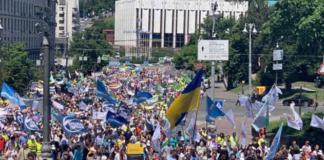"""В Киеве посол Польши поддержал марш за """"семейные ценности"""""""