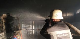 пожар Мукачево Новая почта