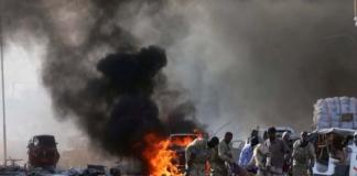 У Сомалі бойовики підірвали авто біля готелю