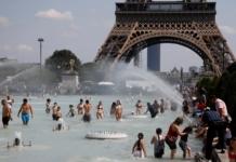 аномальная жара в Европе
