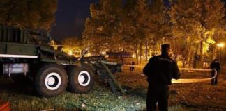 Минск салют взрыв