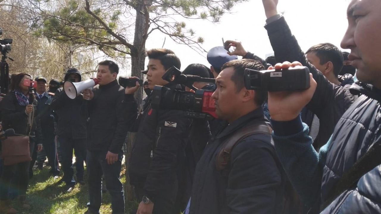 Казахстан митинги