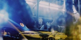 В Жулянах Boeing выкатился за посадочную полосу