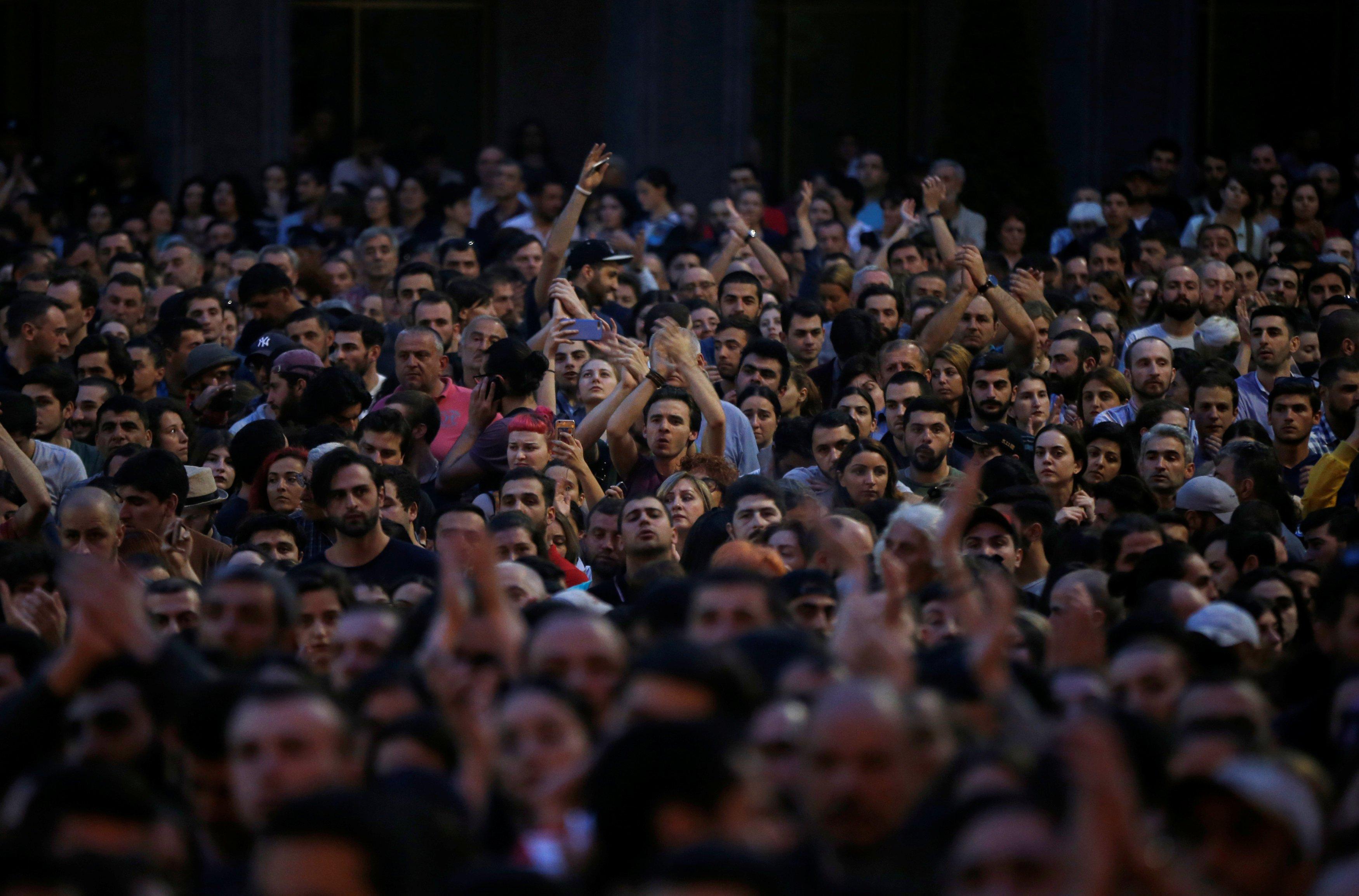 Грузія протести