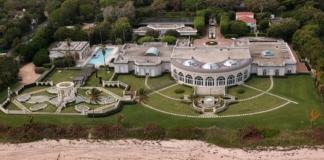 поместье Трампа, купленное российским бизнесменом Рыболовлевым