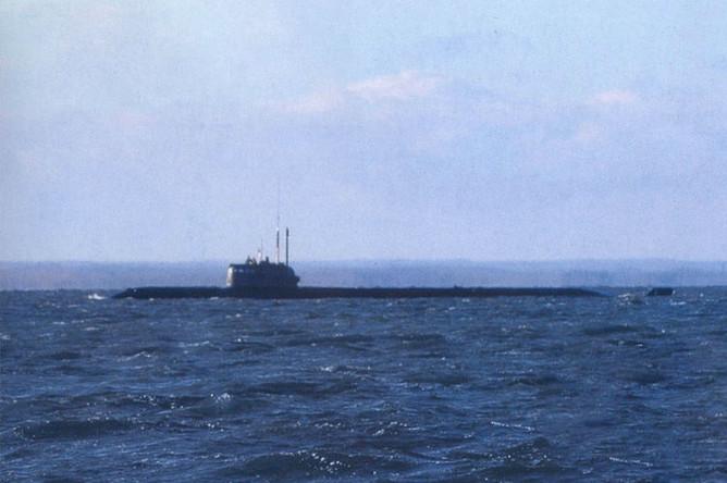 B РФ моряки погибли при пожаре на атомной подлодке