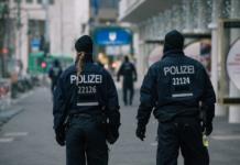 полиция Берлина