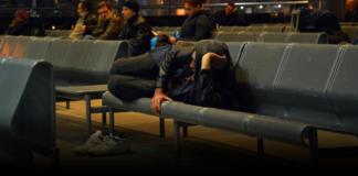 разгон бездомных на киевском вокзале