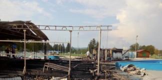 пожежа у таборі у Франківську