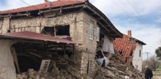 Землетрус в Туреччині пошкодив близько 1000 будинків