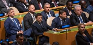 Зеленський на Генасамблеї ООН