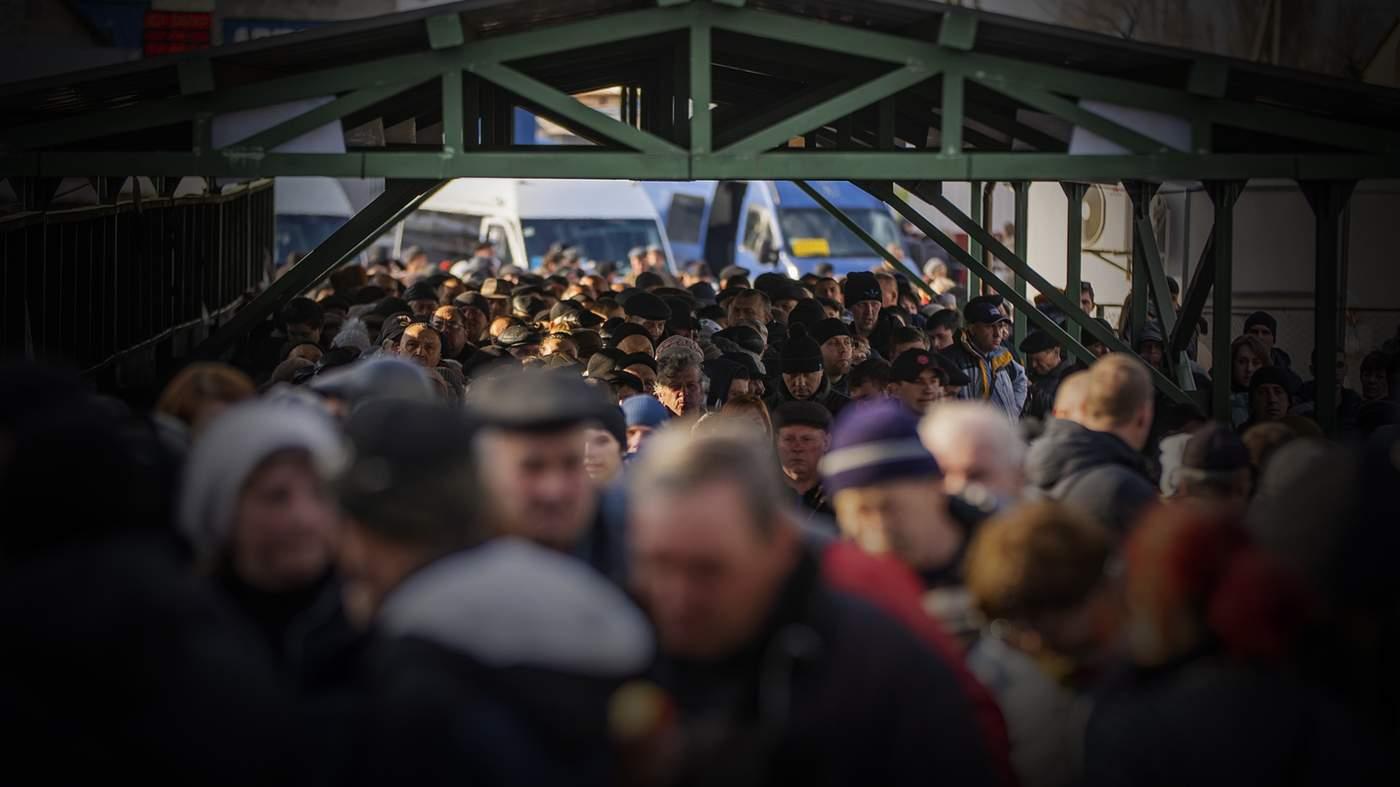 цивільні на Донбасі