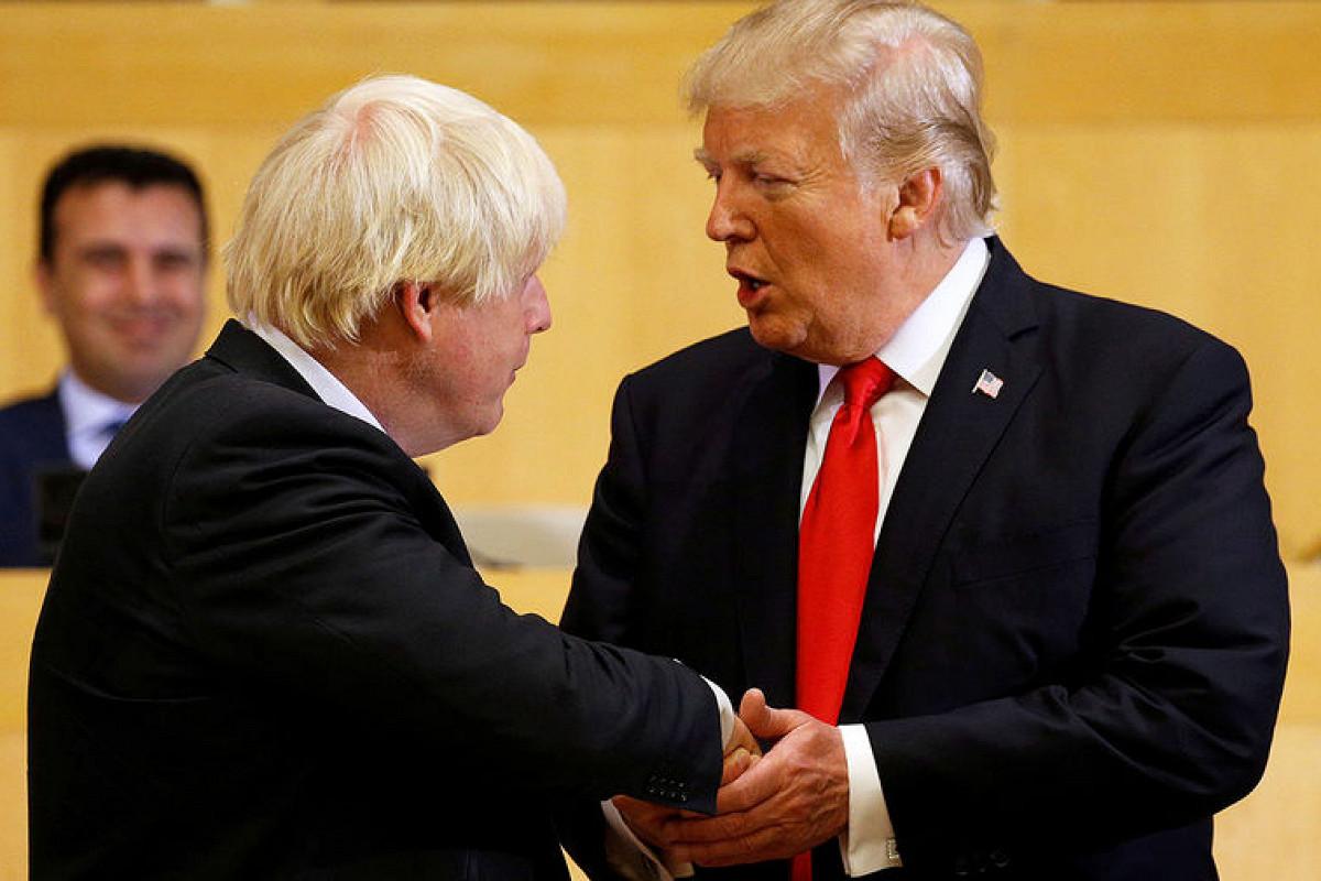 Джонсон и Трамп