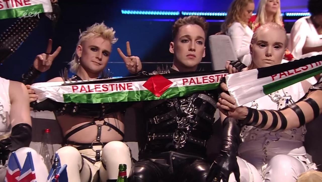 Исландия флаг Палестины