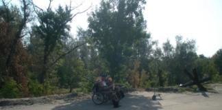 Боевик «ЛНР» зарабатывает извозом на контролируемом берегу Донца