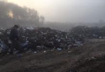 В Тернопольской области несанкционированно сбросили десять грузовиков мусора из Львова