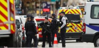 напад на поліцейських у Франції
