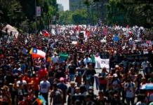 протесты в Чилі